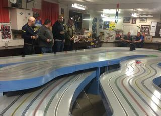 USA visitors race on Club Night