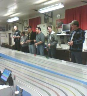 Scalextric Night Racing