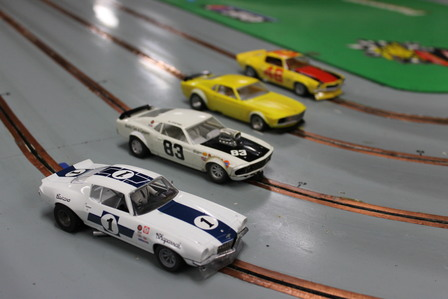 Scalectrix Cars